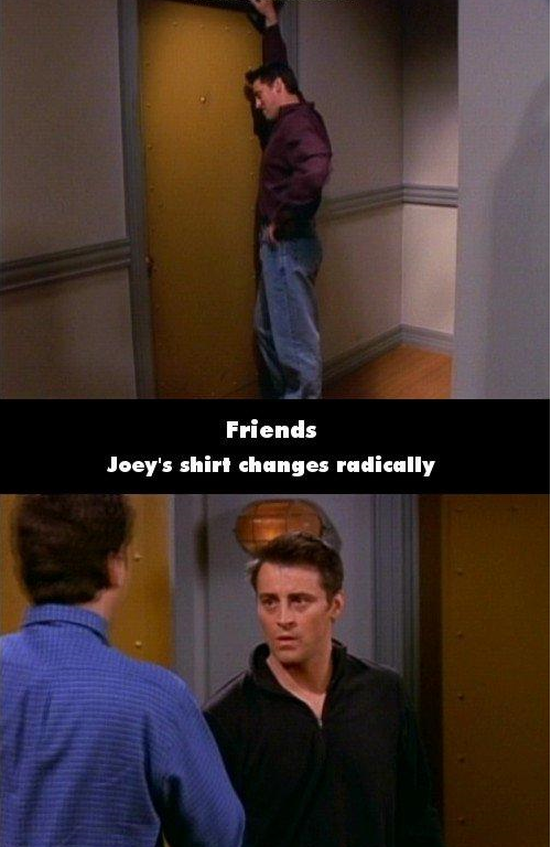 11 Mistakes In Friends You Wont Believe You Missed